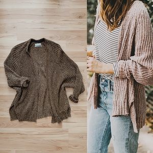 Urban Outfitters Chenille Cardigan